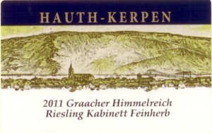 HauthKerp Riesling Kab Feinherb