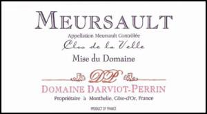Meursault Clos de la Velle